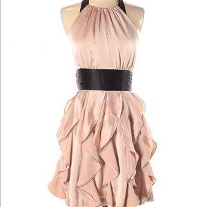 *host pick* BCBG blush satin halter dress